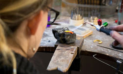 workshop, bench peg, jewellers banch, HighendSilver, Gold, jewellery, design, contemporary, Irish, ireland, sligo, jewellery, jeweller, goldsmith, bespoke, one off, high end.
