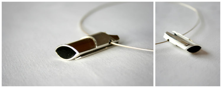 Two Sides Silver, Chocker, Pendant, One off contemporary jewellery design, Hand Made, Design, Jewellery design, Irish contemporary Design, Irish Design, Contemporary jewellery design, Sligo Jeweller, Sligo Goldsmith,