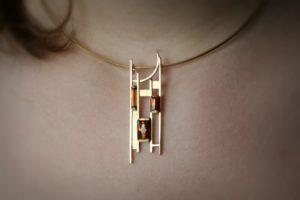Hessonite Garnet, Erwinn Springbrunn, Gemstone, Bespoke Jewellery, Jewellery Design, Goldsmith Sligo, Ballintogher Sligo