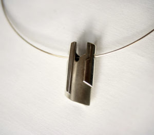 2 Sided, Silver pendant, Jewellery, Highend, Goldsmith, Jeweller, Contemporary, Design, Sligo, Ireland, Irish, Design,
