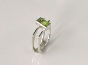 Peridot, Silver, Ring, Silver and peridot, Sligo, Jewellery, Sligosmith, Goldsmith, Goldsmith Sligo, Rings Sligo, Tiffany Budd, Irish Jewellery,