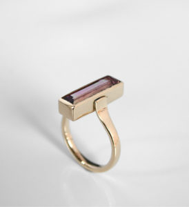 Pink Tourmaline, Tourmaline, Rubelite, !8ct Gold, !8ct, Gold Jewellery, Highend, Goldsmith, Tiffany Budd, Sligo Goldsmith, Irish Goldsmith, Sligo Jewellery, Sligosmith, Sligo Design, Irish, Irish jewellery, Highend jewellery, highend Jewelry