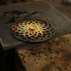 Instagram, Making gold with garnet pendant, Jewellery, drawing, Goldsmith, Jewellery, Oneoff, bespoke, Garnet, pendant, Irish, Sligo, Tiffany Budd